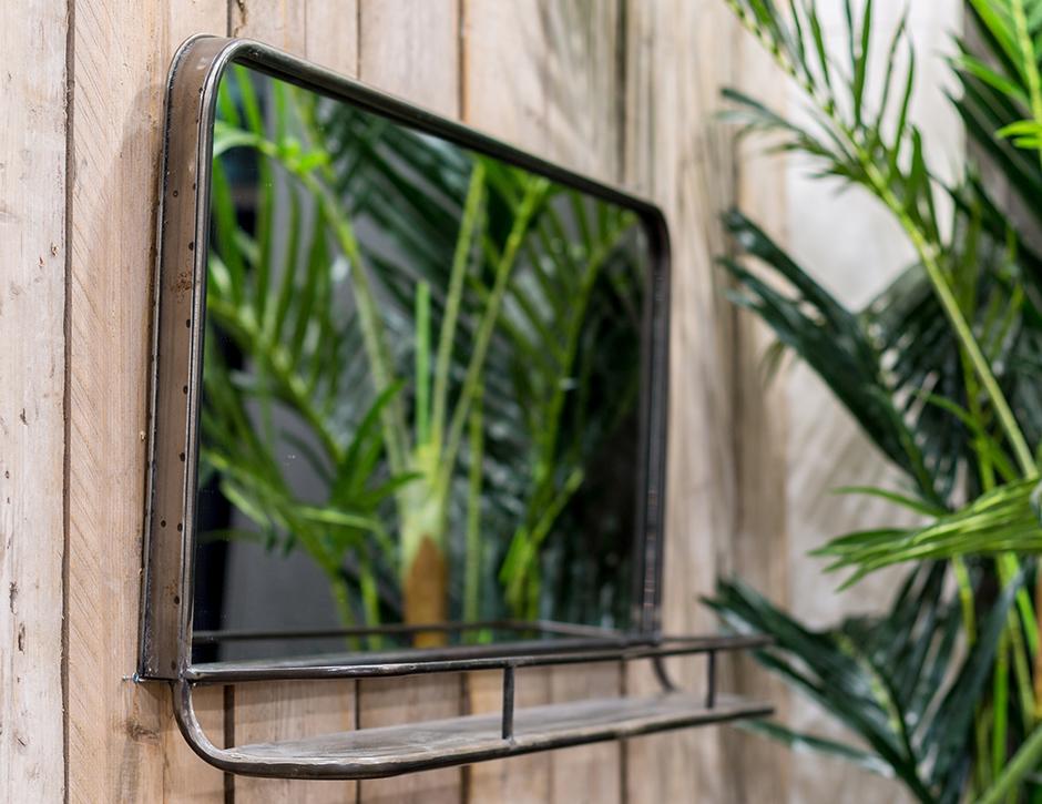 Spiegel Met Plankje : Reflect™ gartenspiegel aus echtglas mit fensterläden cm cm