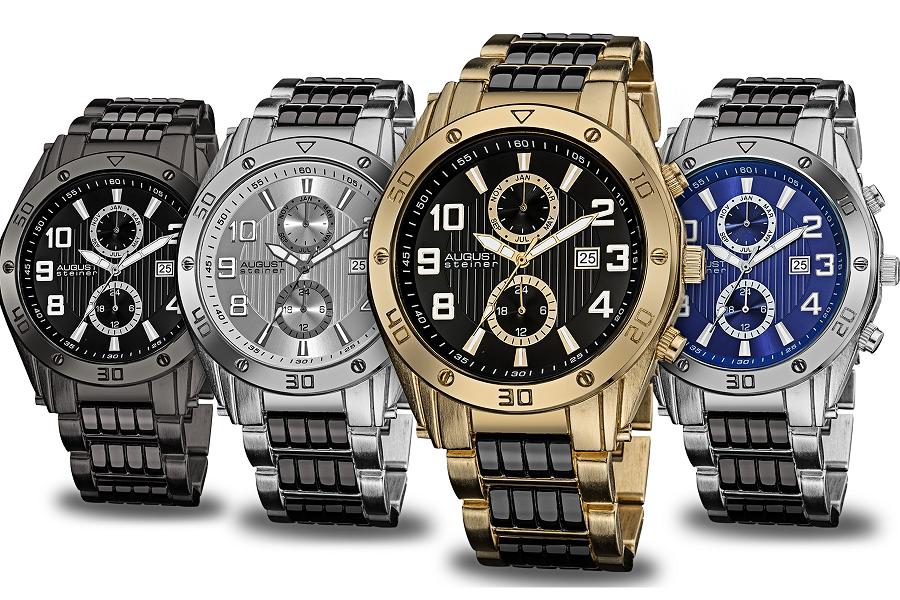 August Steiner horloges